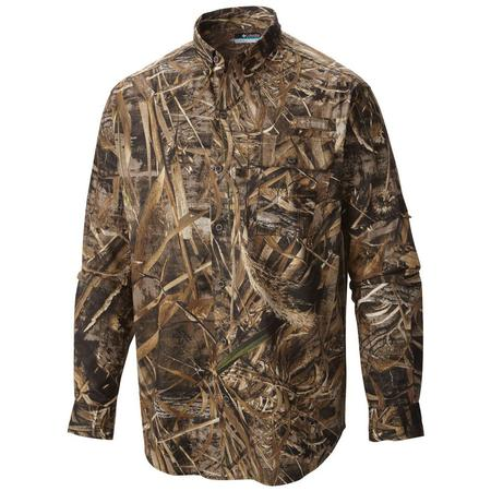 COLUMBIA SHARPTAIL CAMO L/S