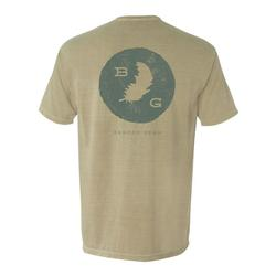 BANDED FEATHER S/S T-S KHAKI