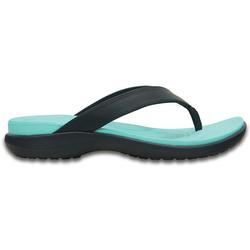 CROCS CAPRI V FLIP W NAVY/POOL