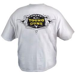 DRAKE YOUNG GUNS T-SHIRT WHITE