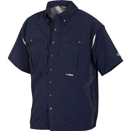 DRAKE COTTON WINGSHOOTER S/S