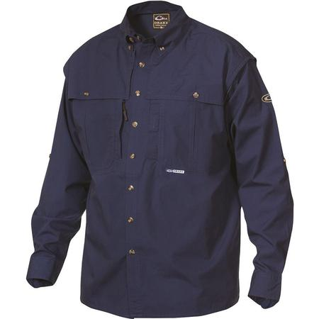 DRAKE COTTON WINGSHOOTER L/S