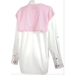 DRAKE LADIES` COVER-UP PINK_SEARSUC