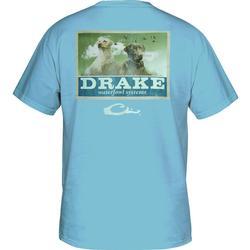 DRAKE BLACK + YELLOW LAB T SKY_BLUE