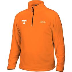 DRAKE GD CAMP FLEECE PULLOVER ORANGE