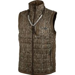 DRAKE MST SYNTHETIC DOWN 2-TONE PAC VEST 2TONE_MO_BOTTOMLAND