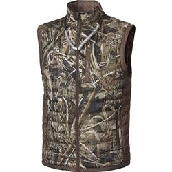 DRAKE MST SYNTHETIC DOWN 2-TONE PAC VEST 2TONE_REALTREE_MAX5