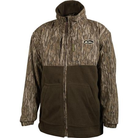 DRAKE YOUTH EQWADER FULL ZIP