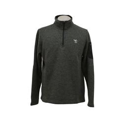 CHARLES RIVER FFO FLEECE PULLOV CHARCOAL