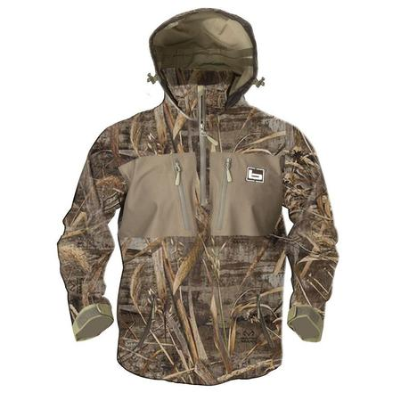 BANDED WATERPROOF HOODED 1/4 ZIP