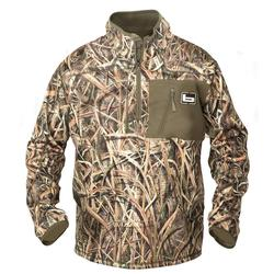 BANDED MID LAYER 1/4 ZIP BLADES