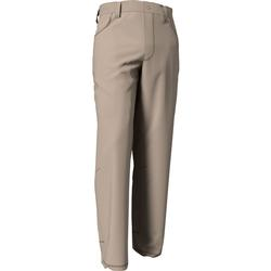 BANDED COTTON TWILL PANT KHAKI