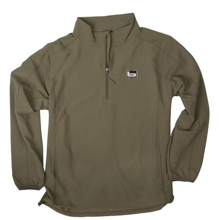 BANDED EARLY SEASON PULLOVER