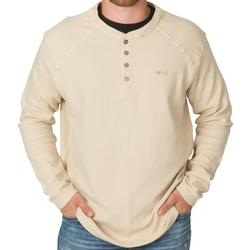 BANDED THERMAL WORKMAN HENLEY IRON_GREY