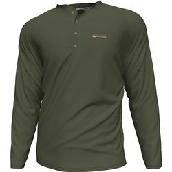 BANDED THERMAL WORKMAN HENLEY SPANISH_MOSS