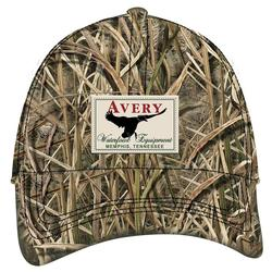 AVERY OIL CLOTH 8 0Z CAP MOSSY_OAK_SG_BLADES