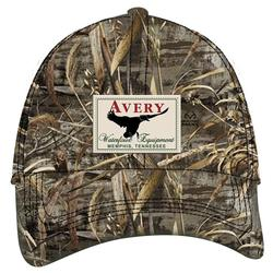 AVERY OIL CLOTH 8 0Z CAP REALTREE_MAX5