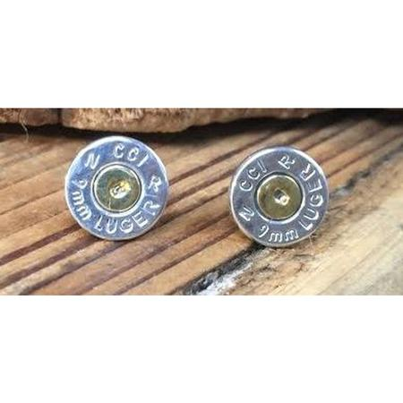 SPENT ROUNDS 9MM EARRING