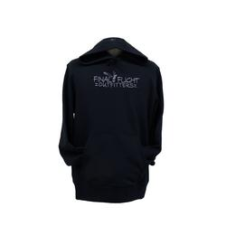 FINAL FLIGHT SOLID HOODIE BLACK