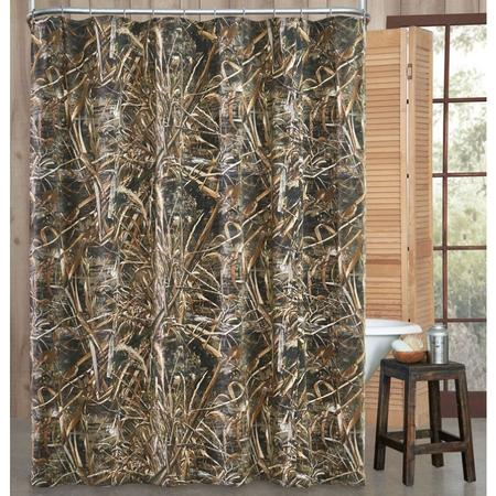 KIMLOR CAMO SHOWER CURTAIN