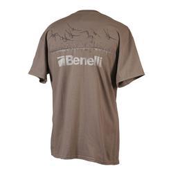 BENELLI INCOMING S/S T-SHIRT DARK_BROWN