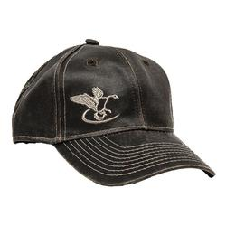 FINAL FLIGHT GOOSE LOGO HAT BROWN