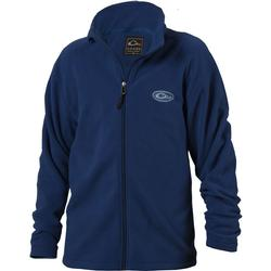 Drake Youth Camp Fleece Full Zip BLUE