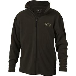 Drake Youth Camp Fleece Full Zip GREEN