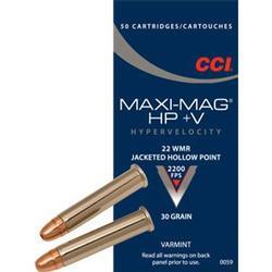 CCI 22WMR HP MAX-MAG +V 22_WMR_JHP