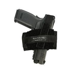 BLACKHAWK FLAT BELT HOLSTER BLACK