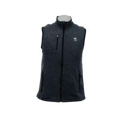 CHARLES RIVER FFO FLEECE VEST CHARCOAL