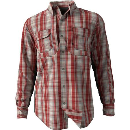 DRAKE WINGSHOO MADRAS PLAID L/S