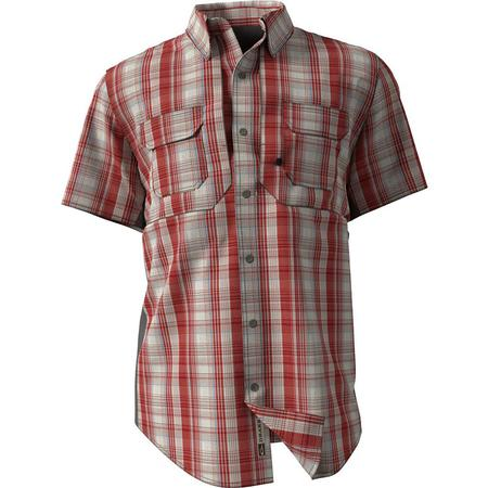 DRAKE WINGSHOO MADRAS PLAID S/S