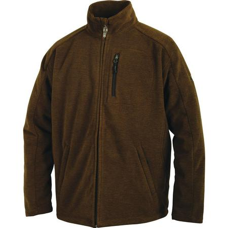 DRAKE MST HEATHERED FULL ZIP