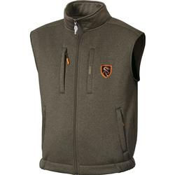 DRAKE NT SOFT SHELL FLEECE VEST HEATHERED
