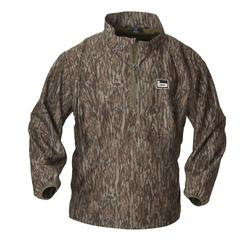 BANDED WINDPROOF PULLOVER BOTTOMLAND