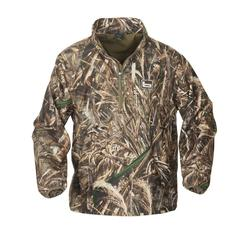 BANDED WINDPROOF PULLOVER MAX5