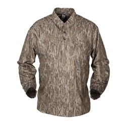 BANDED TEC FLEECE HENLEY SHIRT BOTTOMLAND