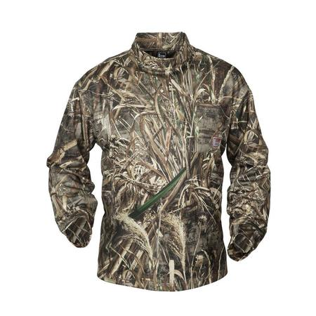 BANDED TEC FLEECE MOCK SHIRT