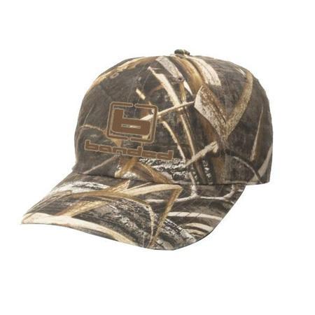 BANDED WAXED CAMO CAP