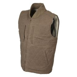 AVERY HERITAGE FIELD VEST WAXED_TAN