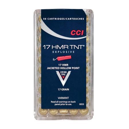 CCI 17 HMR TNT SHELLS