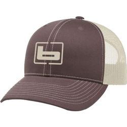 BANDED SIGNATURE TRUCKER CAP BROWN/KHAKI