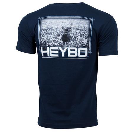 HEYBO DEER IN COTTON S/S TEE