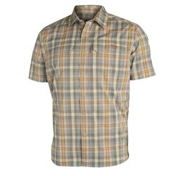 SITKA GLOBETROTTER S/S SHIRT TWILL_PLAID