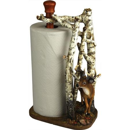 DEER BIRCH PAPER TOWEL HOLDER