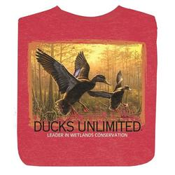 DU BLACK DUCKS S/S T-S HEATHEREDRED