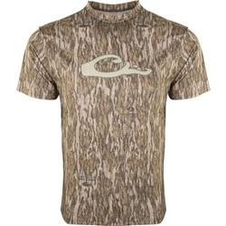 DRAKE CAMO PERFORMANCE S/S BOTTOMLAND