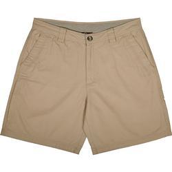 Drake Washed Cotton Canvas Shorts STONE