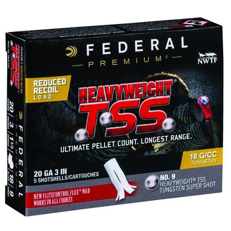 FEDERAL HEAVYWEIGHT TSS 20GA 3
